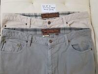 Lot of 2 The Territory Ahead Men's Corduroy Pants Slacks Size 38x30 39x30