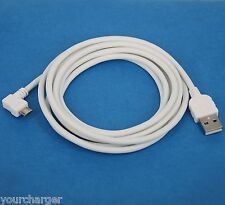 5ft 1.5M Fast Charger ONLY L-shaped USB Cable WHITE 4 Samsung Galaxy A5 A3 Alpha