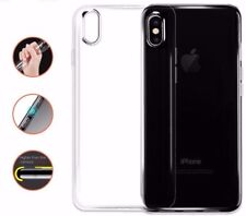 iPhone X XS Transparent Case Crystal Clear Soft Thin Flexible Cover