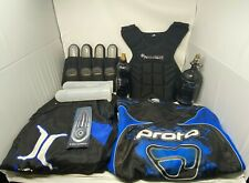 Paintball Package - Protective Gear, Pod Holder, 6 Pods, 2 Tanks, Barrel Cover