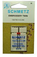Schmetz Sewing Machine Twin Embroidery Needle 1737