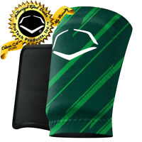 EvoShield Evo MLB Baseball Wrist Guard A150 Adult Green/Stripes SM, MD, LG, XL