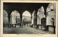 Udine Italien Italia Venetien AK ~1920/30 Via Mercato Vecchio Straßen ungelaufen