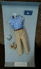 """Franklin Mint """"Diana The People'S Princess"""" Casual Outfit On Original Card ~"""