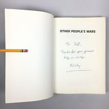 OTHER PEOPLE'S WARS New Zealand Afghanistan Iraq War Terror SIGNED Nicky Hager