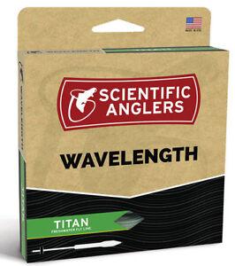 SA Wavelength Titan WF-10 Floating Fly Line -  Green/Pale Yellow - Free US Ship