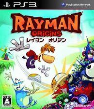 Used PS3 Rayman: Origins SONY PLAYSTATION 3 JAPAN JAPANESE IMPORT