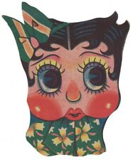 Betty Boop Japanese Paper Mask late 1930s