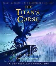 The Titan's Curse by Rick Riordan (CD-Audio, 2007)