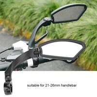 Bicycle Handlebar Review Rear Back View Rotation Mirror for Mountain Road Bike