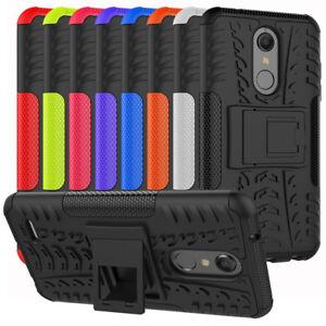 Case For LG K30 K40 K10 X4 2019 K12 Plus Hybrid Shockproof Protector Stand Cover