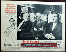 Peter Sellers The Wrong Arm of the Law ORIGINAL 1963 Lobby Card Lionel Jeffries