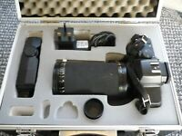Yashica Dental Eye mark 3, 35mm SLR macro camera, wih its case, and accessories.
