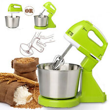 7 Speed Multi Stand Mixer Cake Food Mixing Bowl Beater Dough Electric Blender US