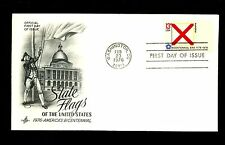 US FDC 1976 State Flag #1654 Alabama AL Artcraft cachet DC cancel