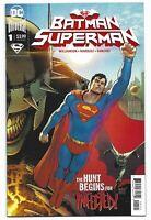 Batman Superman #1 2019 Unread David Marquez Super Variant DC Comics Williamson