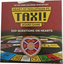 JUST RELEASED ! Taxi Board Game Heart of Midlothian