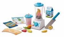 Melissa & Doug Smoothie Maker Wooden Toy 24 Piece Playset Blender Fruit Set