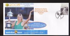 MARIA SHARAPOVA 2008 AUSTRALIAN OPEN WIN TENNIS COVER 1
