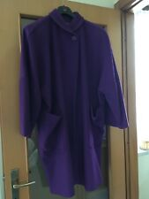 Cappotto vintage, made in italy, viola, donna, anni 90