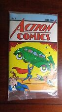 Superman Action Comics Loot Crate June 1938 #1 Reprint with COA DC NEW in Plasti
