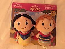 D23 Expo 2017 Snow White Prince Charming Hallmark Exclusive Itty Bitty Plush Toy