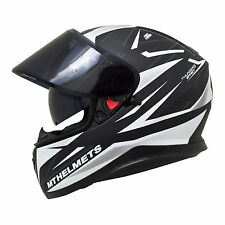 MT Thunder 3 SV Effect Ltd Edition Matt Crash Helmet Motorcycle Motorbike White