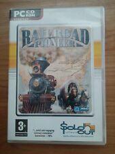 RAILROAD PIONEER,PC CD-ROM,RAILROAD SIMULATION GAME,JO WOOD PRODUCTIONS