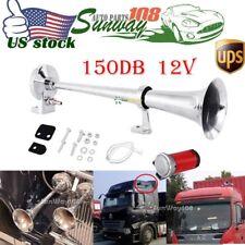 150DB Super Loud Single Trumpet Air Horn Compressor Truck Car Boat Train Lorry