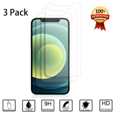 3Pack Tempered Glass Film Screen Protector For iPhone 12 / 12 Pro Max / Mini 5G