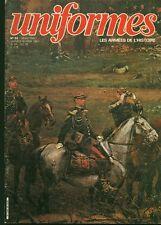 Revue magazine militaire uniformes armées de l'histoire no 59 janv fév 1981