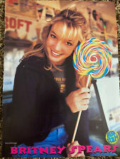 Britney Spears Popstar Teen Magazine Pinup Poster Clipping Young Lollipop