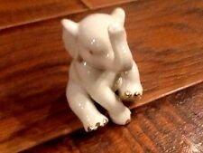 LENOX Baby Elephant Handcrafted in China Accented with 24k Gold