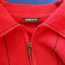 Sehr hübsche Wolljacke von Frank Walder, 46, rot - 100% Wolle!