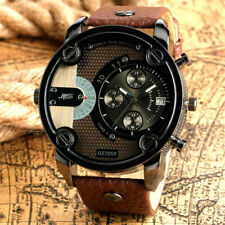 Men's Oversized Wrist Watch Big Face Watch Chronograph Date Quartz Luxury Watch
