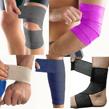 Adjustable Elasticated Compression Bandage Wrap Knee Ankle Wrist Elbow Support