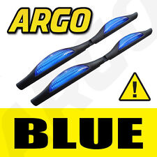 BLUE DOOR GUARD PROTECTORS EDGE STRIP REFLECTORS PEUGEOT 407 SW