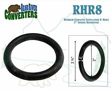 "RHR8 2"" O-Ring Exhaust Mount Rubber Insulator Grommet Hanger Bushing Support"