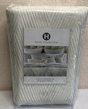HOTEL COLLECTION 2 Euro Pillowshams LATERAL Ivory 100% PIMA COTTON $185