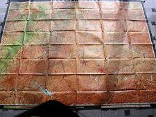 Bayern 251x196~1971 vintage south germany wall map B 南德意志挂图  JA 南ドイツの壁マップバイエルン州