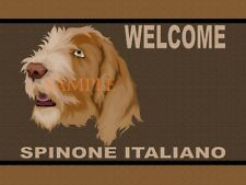 Spinone Italiano Dog Portrait Graphic Art Welcome Doormat Floor Door Mat Rug