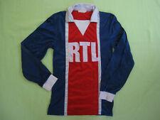 Maillot PSG Paris Saint Germain RTL 70'S Vintage Jersey Enfant - 10 / 12 ans