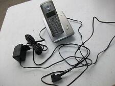 AEG Fame 300 Dect-Telefon mit Netzteil + Kabelsatz defekt  für Bastler