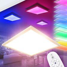 Plafoniera Luce Illuminazione Salotto Moderna Panello LED Telecomando Colori RGB