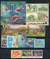 ONU Vienna 1996 Mi. 202-219 + Bl. 7 Nuovo ** 100% Sport, Animali