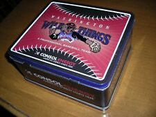 Minor League Baseball, Washington Wild Things, metal lunchbox, excellent conditi