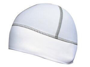 Zimco Cycling Super Roubaix Skull Cap Head Warmer Beanie Skull Cap Hat White