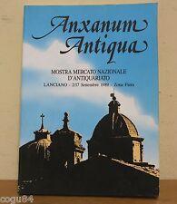 Anxanum Antiqua - Mostra mercato nazionale d'antiquariato - 1989