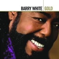 """BARRY WHITE """"GOLD (BEST OF)"""" 2 CD NEUWARE"""