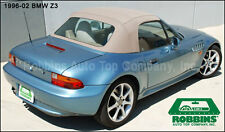 """BMW Z3 Roadster Top with Green Tinted Plastic Window """"Robbins"""""""
